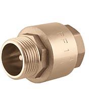 Клапан обратный пружинный осевой в/н для насосов