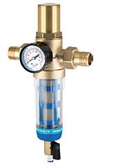Фильтр промывной «TWIST TO CLEAN» с защитой от гидроудара и манометром