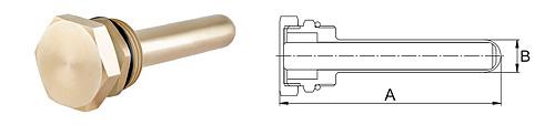 Магнитный уловитель для гидрострелки