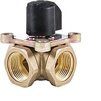 Четырёхходовой поворотный смесительный клапан