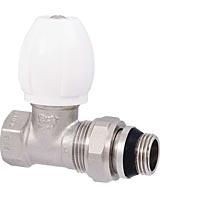 Вентиль радиаторный регулировочный прямой с конусным затвором и кольцевым уплотнением полусгона