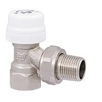 Клапан радиаторный термостатический угловой